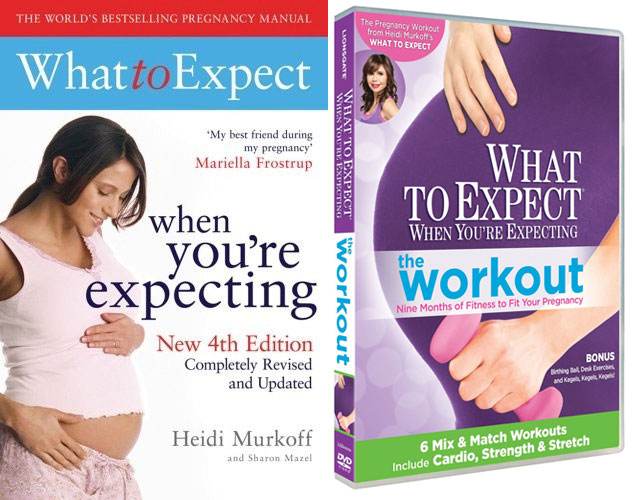 What To Expect Book &amp; Workout DVD Giveaway!