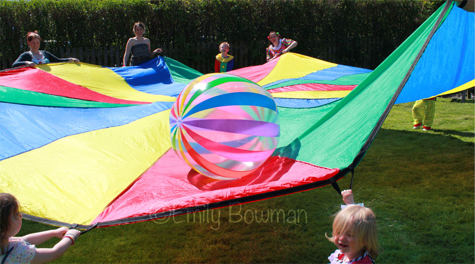 Parachute-Ball