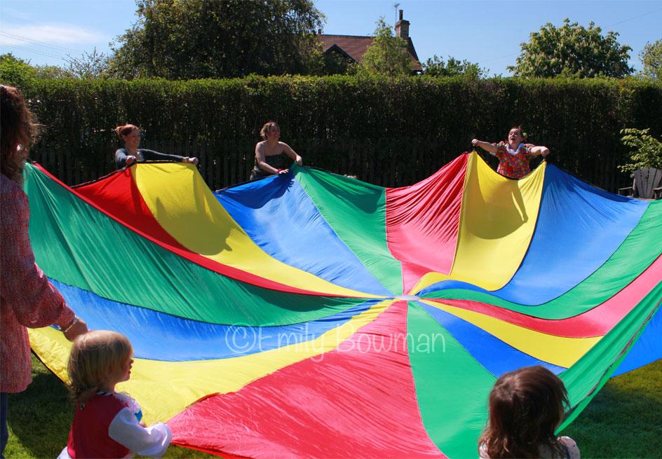Parachute-Down