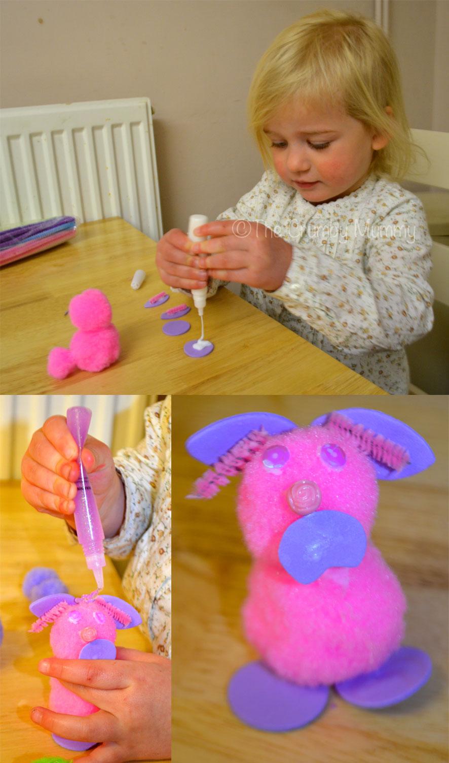 Pom-Pom-Easter-Bunny-Craft