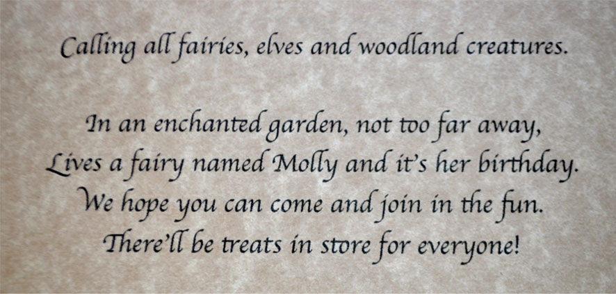Fairy Scrolls