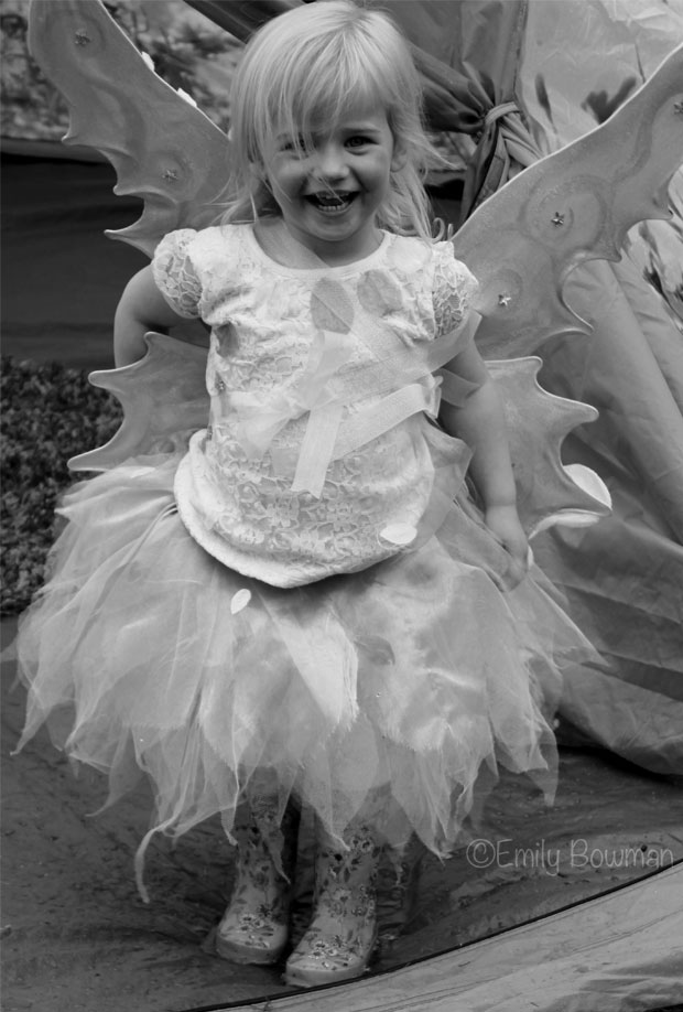A Fairy Costume Fit For A Fairy Princess
