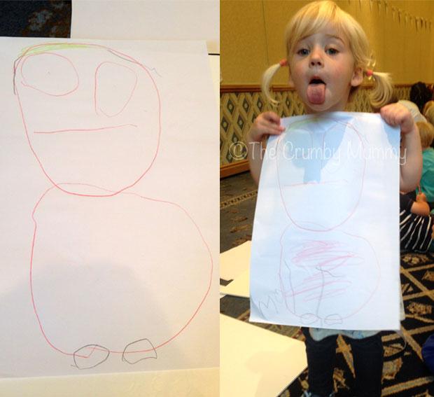 Drawing-Sarah-&-Duck