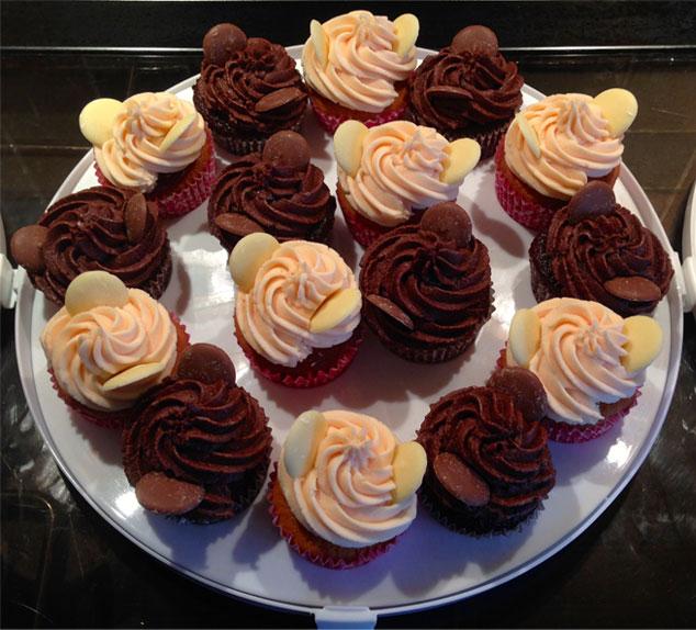 Chocolate-&-Strawberry-Cupcakes