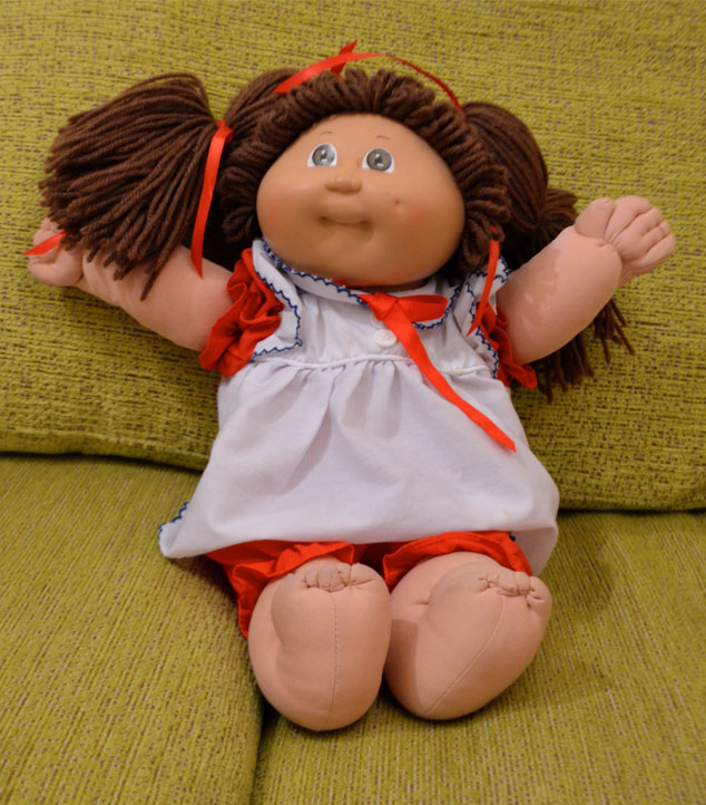 The Crazy Cabbage Patch Lady