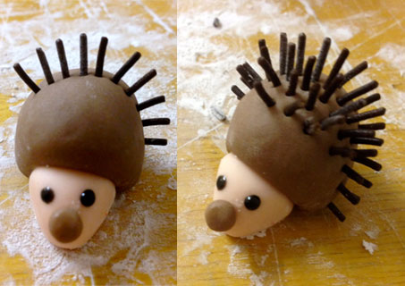 How-to-make-sugarcraft-hedgehog