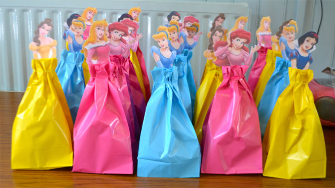 Disney Princess Party - D.I.Y. Party Bags