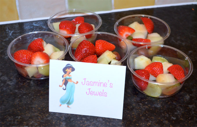 Disney Princess Party Food Jasmines Jewels