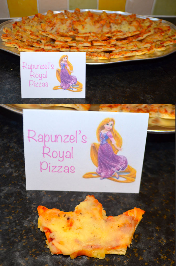 Disney-Princess-Party-Food-Rapunzel's-Royal-Pizzas