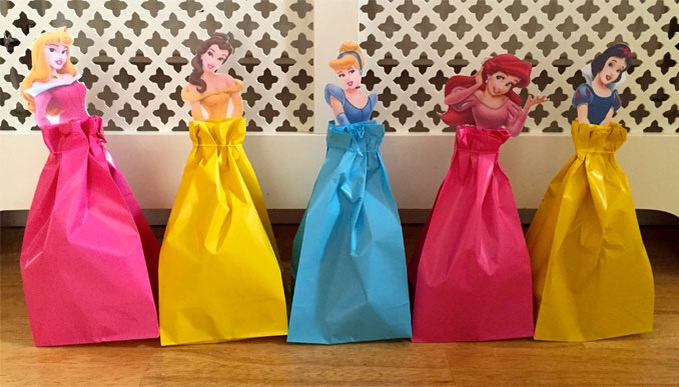 Disney Princess Party - Party Bag Fillers.