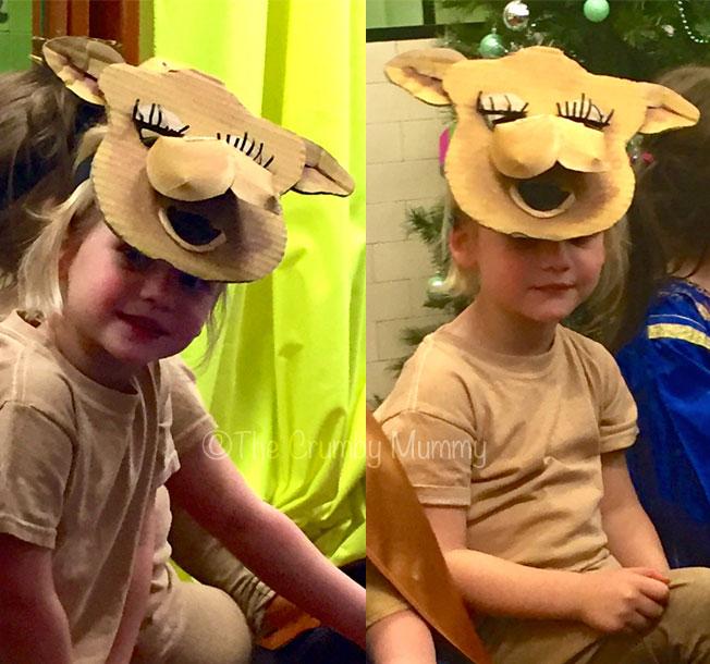 child's camel costume