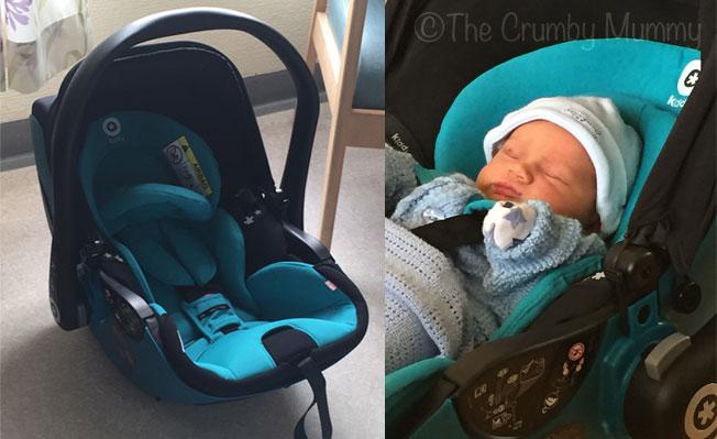 Perfect car seat for a newborn