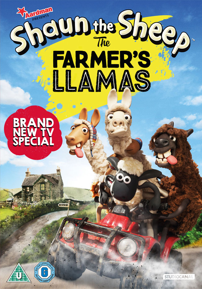 Shaun The Sheep DVD & Book Giveaway
