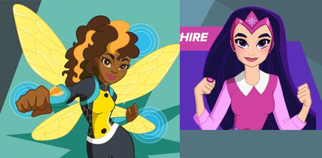DC Super Hero Girls Bumble Bee Sapphire