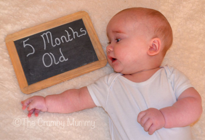5 month old baby boy