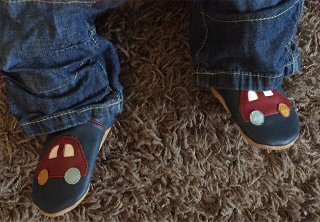dotty fish car baby shoes
