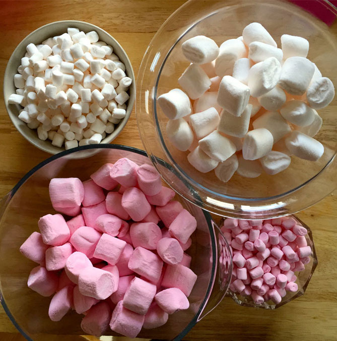 marshmallow separating