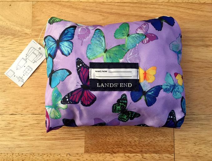 butterfly folding bag