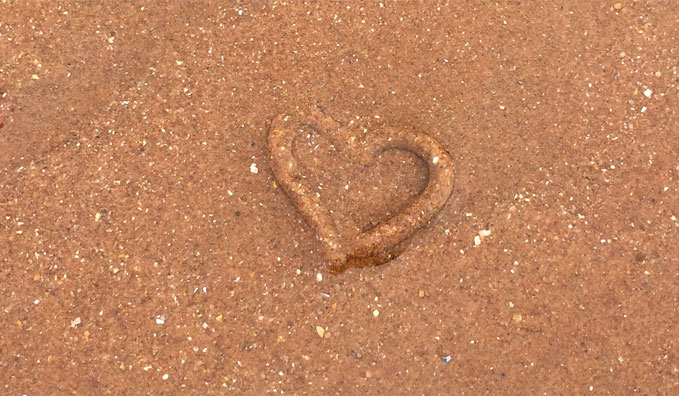 A-Heart-In-The-Sand