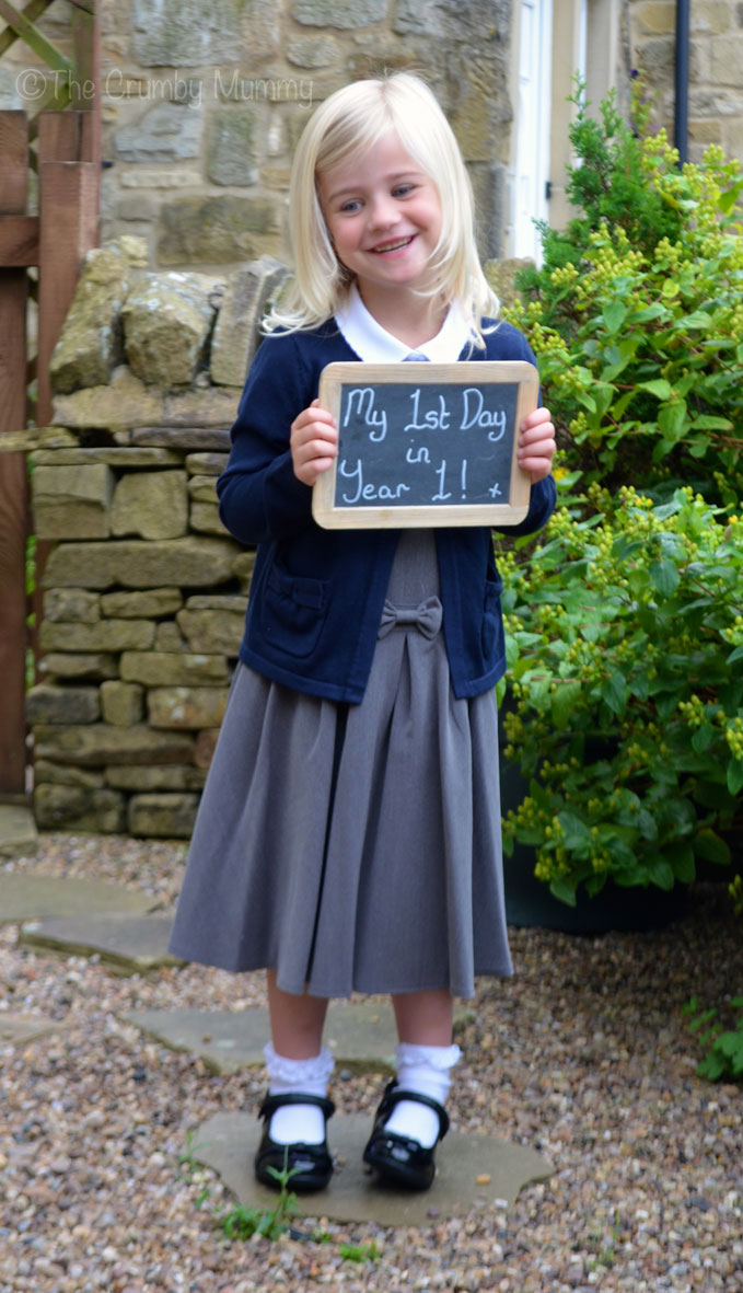 To My Baby Girl On Your 1st Day In Year 1