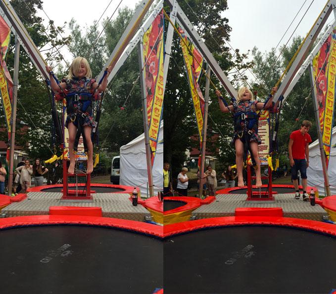 bungee trampoline children