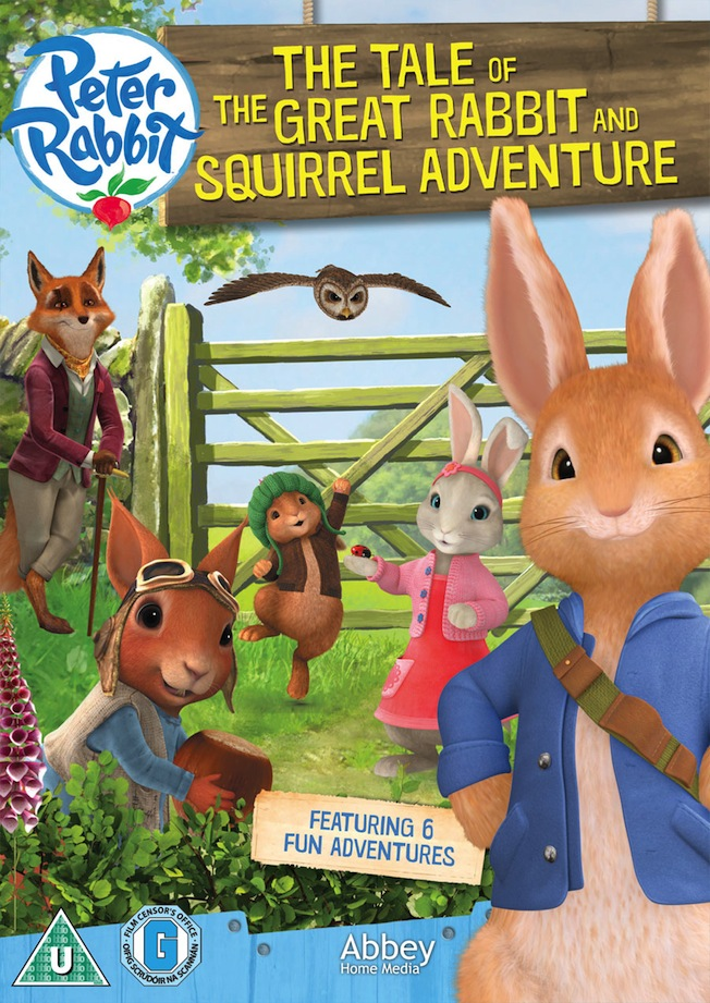 Peter Rabbit - The Tale Of The Great Squirrel Adventure DVD Giveaway