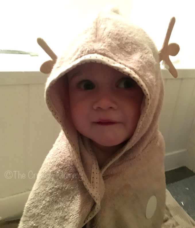 fun baby bath towel