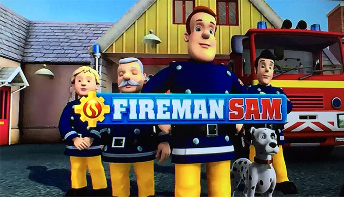 fireman sam on channel five