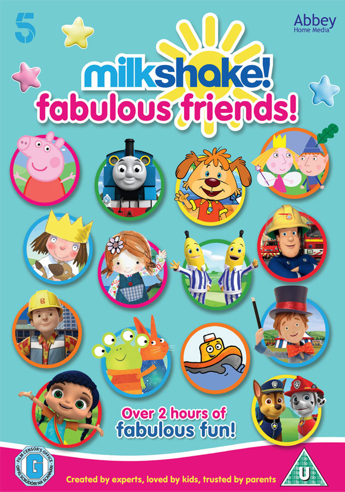 milkshake fabulous friends dvd