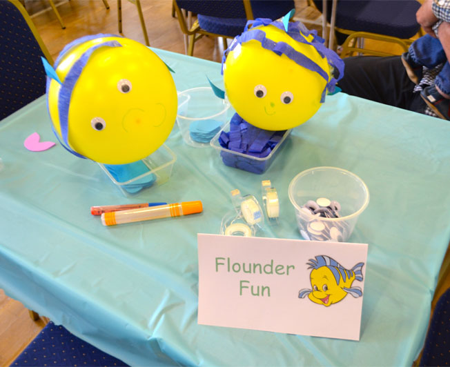 under the sea party ideas balloon fish