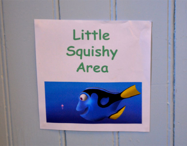 little squishy play area