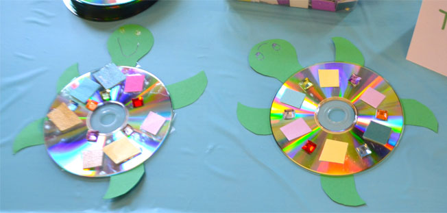 kids under the sea turtle craft