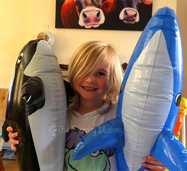 inflatable under the sea creatures