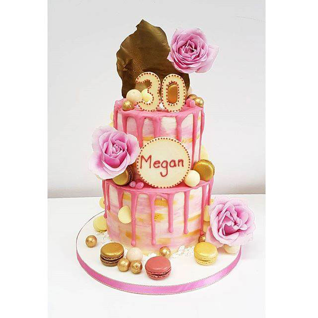 Drip Cake Design By The Odiham Cake Company