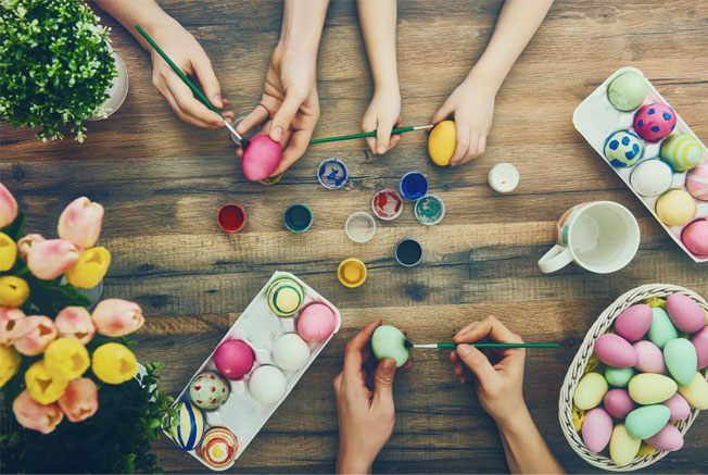 lovely ways to decorate easter eggs
