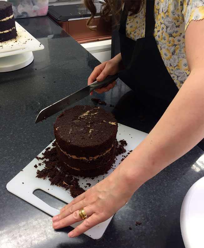 Levelling A Cake