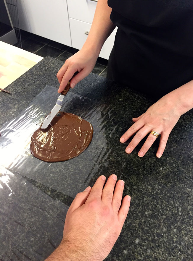 Learning To Make A Chocolate Sail