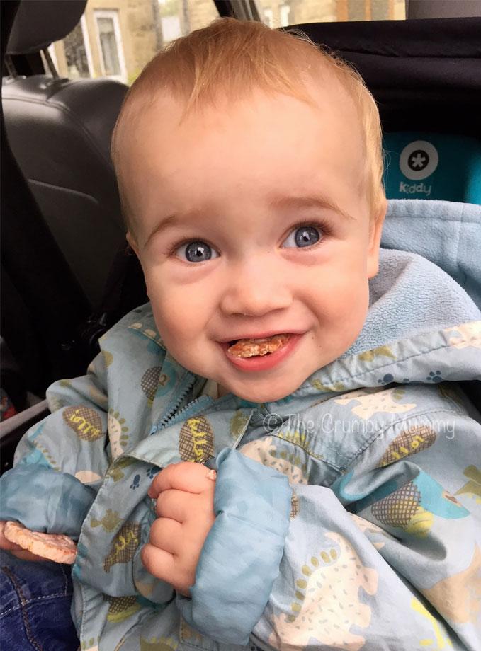 in car toddler snacks