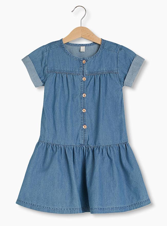 girls summer denim dress