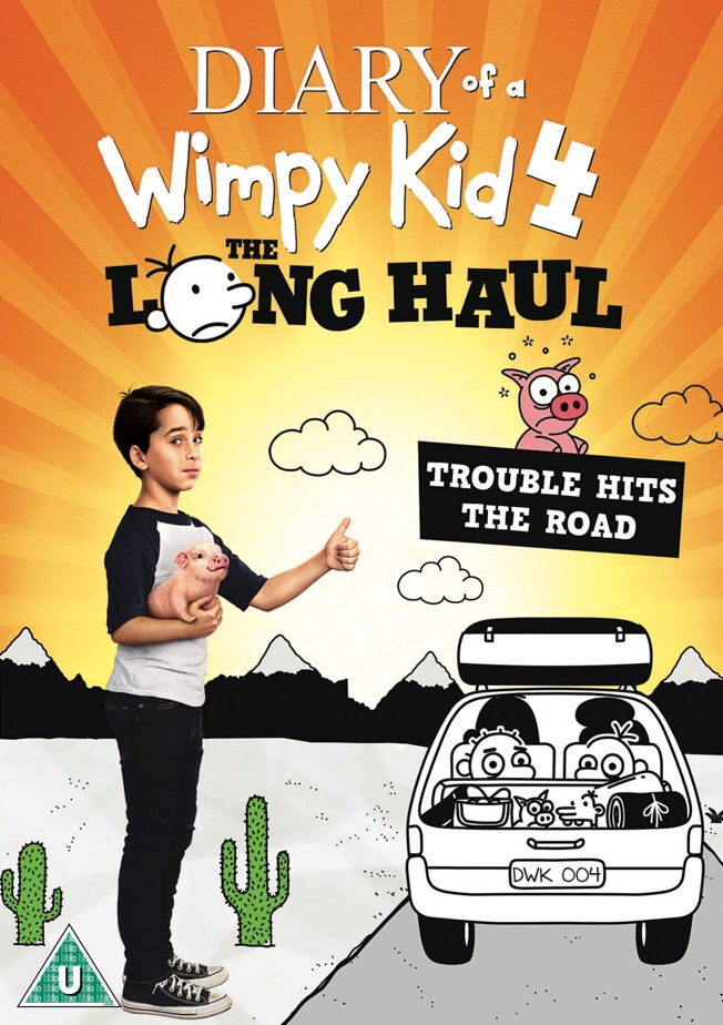 Diary of a Wimpy Kid: The Long Haul DVD Review & Giveaway
