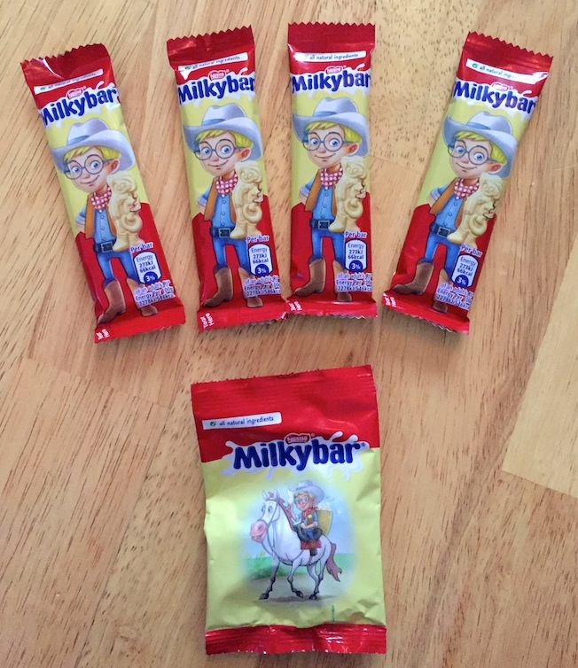 milkybar selection box