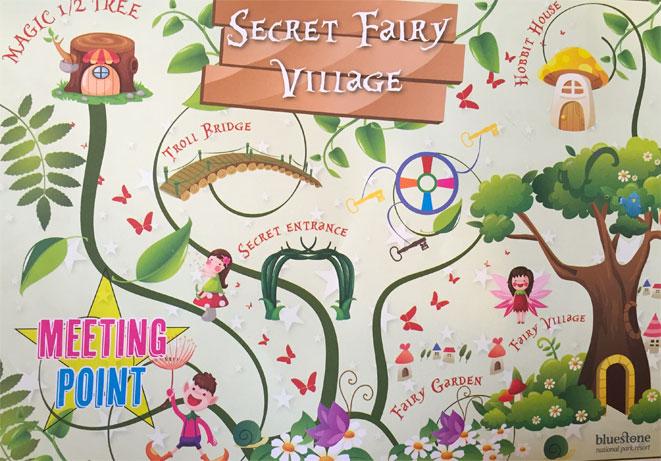 The Secret Fairy Village - Bluestone