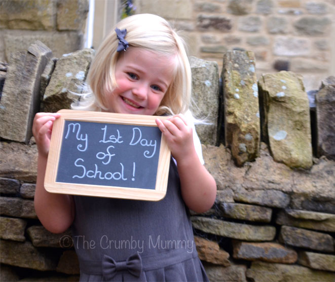 To My Baby Girl On Your 1st Day Of School