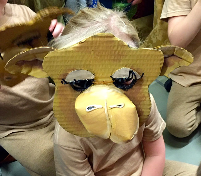 D.I.Y Camel Mask