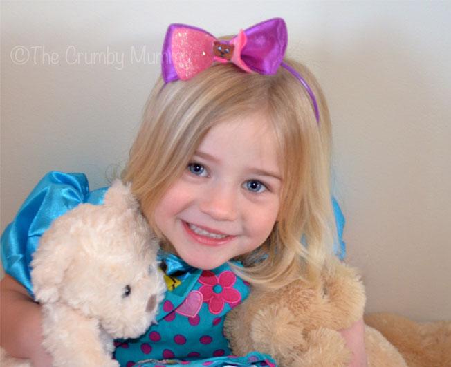 Goldilock bear headband