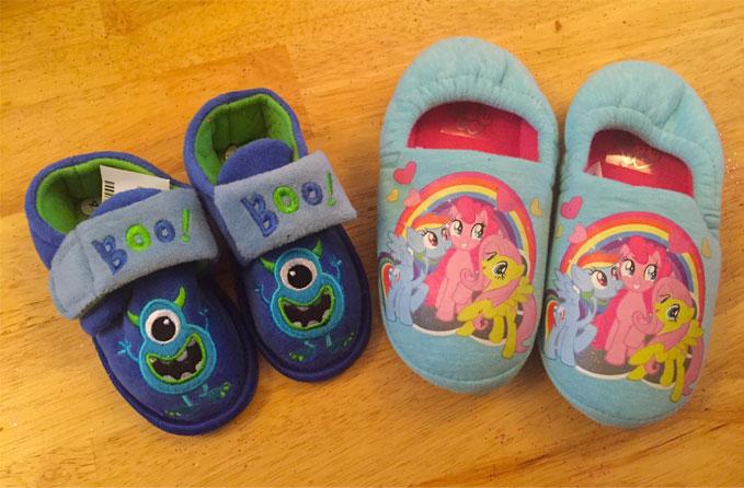 children's slippers from wyndsors