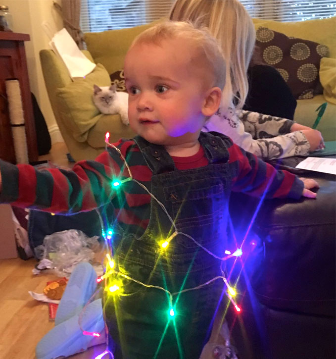 controlling children at christmas