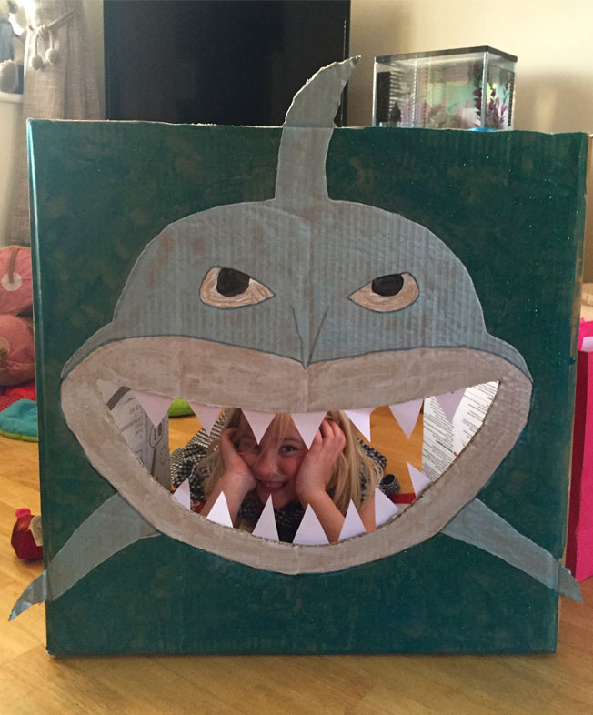 under the sea party shark