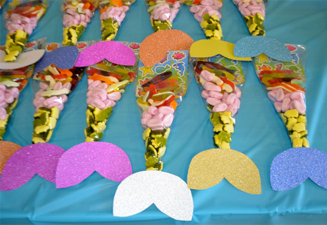 diy party favours for an under the sea mermaid party