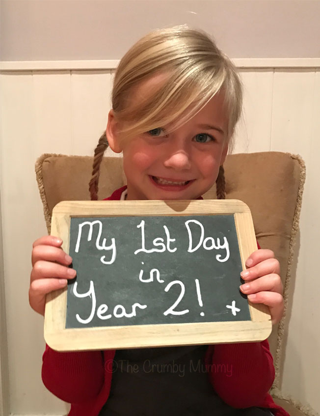 To My Baby Girl On Your First Day In Year 2